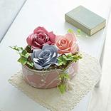 Papierblumen-Arrangement