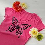 T-Shirt mit Schmetterling