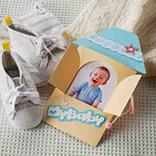Fotokarte-Baby