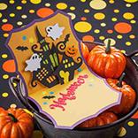 Popup-Halloween-Karte