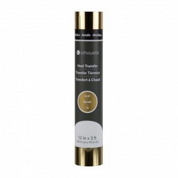 Metallic Heat Transfer - 30,5cm x 90cm Metallic Gold