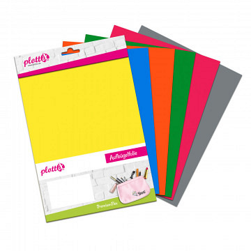 plottiX PremiumFlex Heattransfer 20cm x 30cm bundle 2 (6 pcs.)
