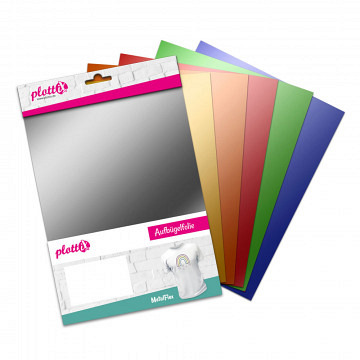 plottiX MetalFlex Bundle 20cm x 30cm (6 Folien)