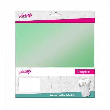 plottiX PremiumFlex - 30cm x 30cm - 3er-Pack GITD