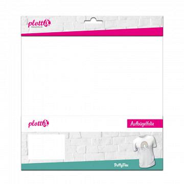 plottiX PremiumFlex - 30cm x 30cm - 3er-Pack PuffyFlex