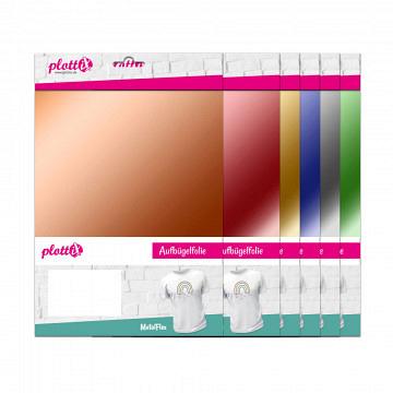 plottiX MetalFlex 20cm x 30cm - 3er-Pack