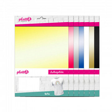plottiX ReFlex reflektierend 20cm x 30cm - 3er-Pack