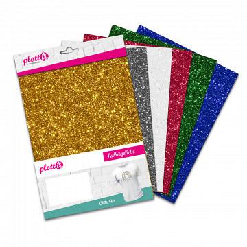 plottiX GlitterFlex bundle 20cm x 30cm (6 pcs.)