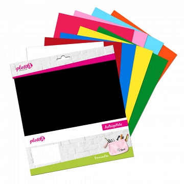 plottiX PremiumFlex Heattransfer 30cm x 30cm bundle 3 (10 pcs.)