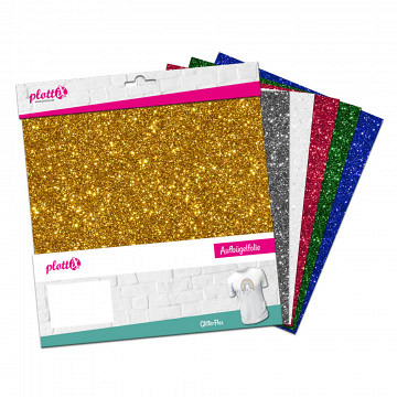 plottiX GlitterFlex bundle 30cm x 30cm (6 pcs.)