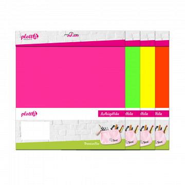 plottiX PremiumFlex Neon 30cm x 30cm - 3er-Pack