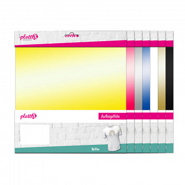 plottiX ReFlex reflektierend 30cm x 30cm - 3er-Pack
