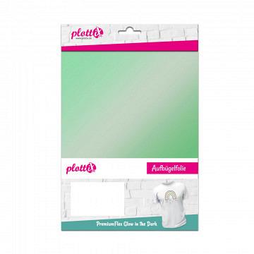plottiX PremiumFlex - 20cm x 30cm - 3er-Pack GITD