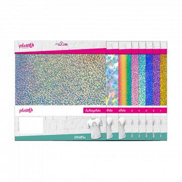 plottiX Effektflex 30 x 30cm - 3er-Pack