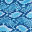 plottiX DesignFlex - 20 x 30cm - loose Blue Scales