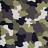 plottiX DesignFlex - 30 x 30cm - loose Camouflage