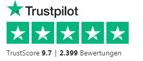 Bewertung von Hobbyplotter bei Trustpilot