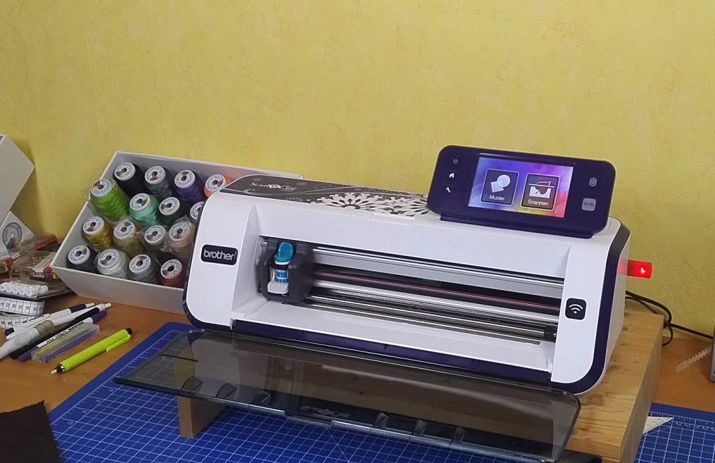 Der Hobbyplotter CM900 den wir für das Projekt verwenden