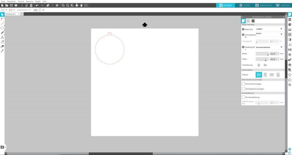Design öffnen oder erstellen