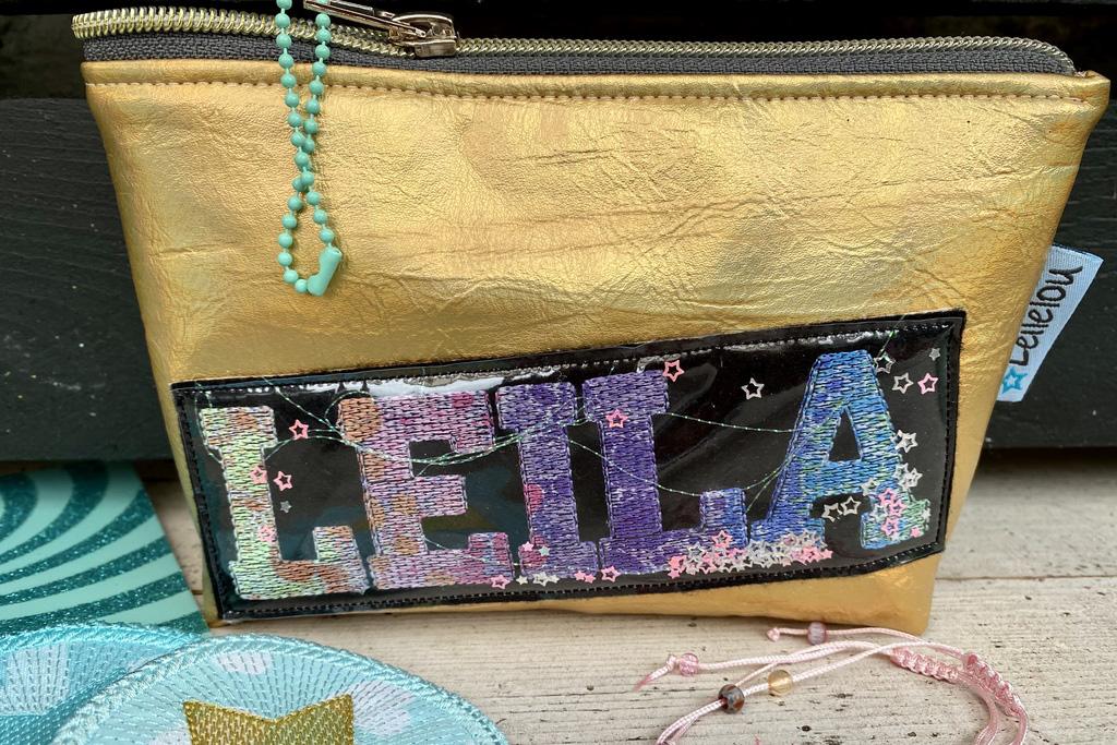 Leila Tasche fertig mit Sublimation