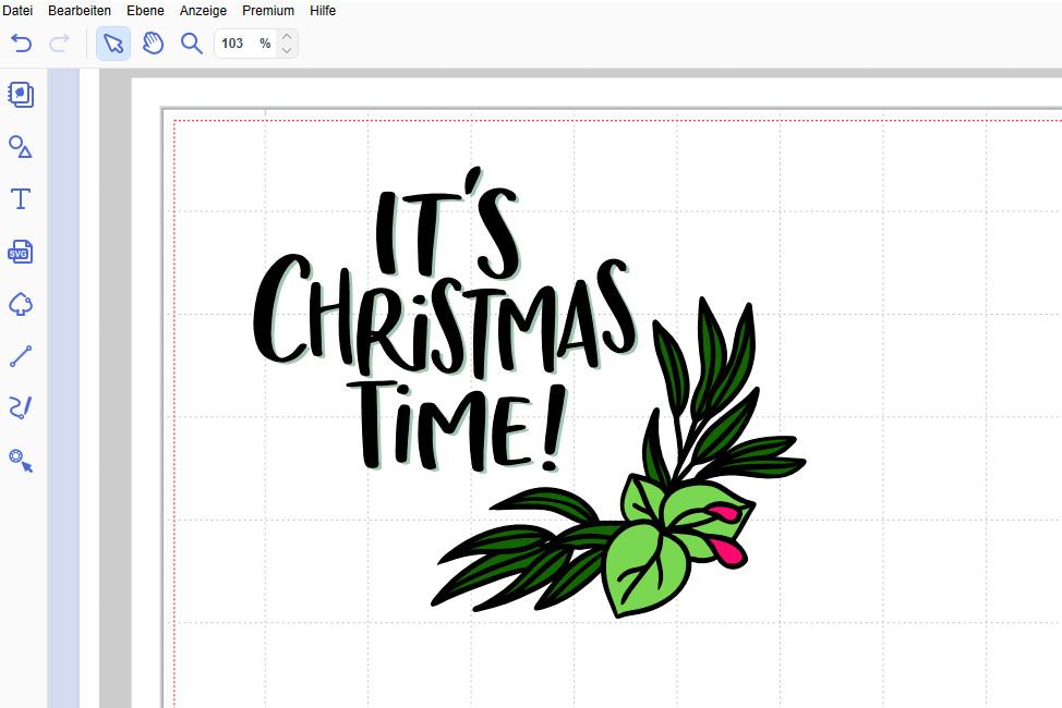 Christmas Time Design anordnen