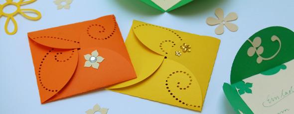 Kostenlose Vorlagen für eine elegante Frühlingskarte - Hobbyplotter