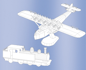 Modellbau Kartonmodelle