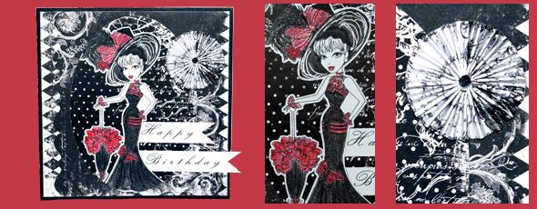 Geburtstagskarte im Print & Cut Verfahren