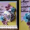 Bunte Stoffblume mit Hobbyplotter SILHOUETTE CAMEO geschnitten