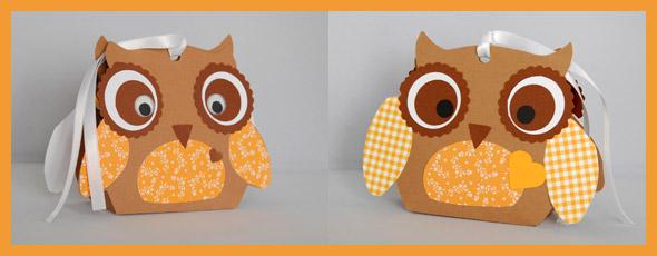 Lustige Geschenkverpackung in Tierform mit dem Hobbyplotter