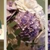 Hochzeits-Strauß aus Cardstock