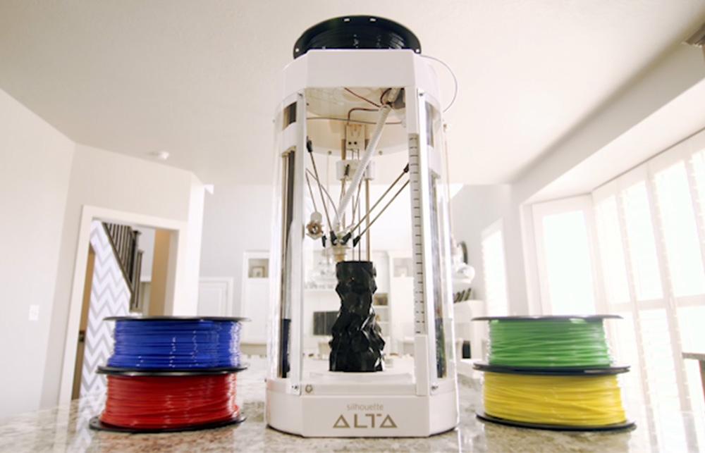 Der Silhouette Alta ist perfekt für Einsteiger in den 3D-Druck – Kinderleichte Bedienung und tolle 3D Software gratis!