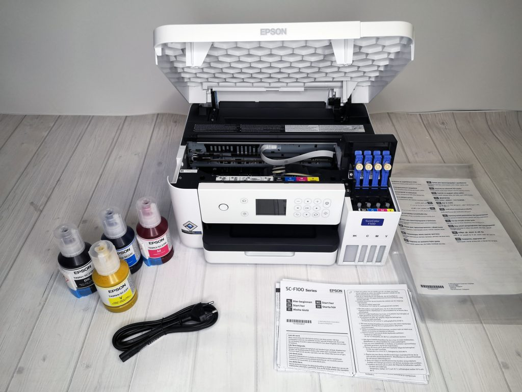 EPSON Sublimationsdrucker ohne Folie.