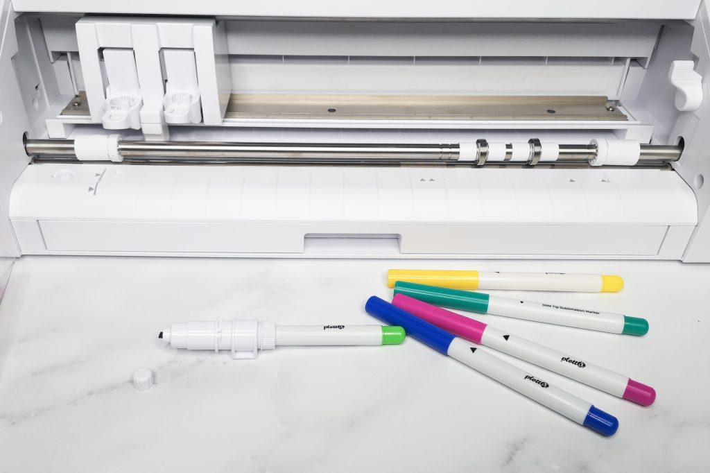 Stift in den Universal Siftehalter einsetzen