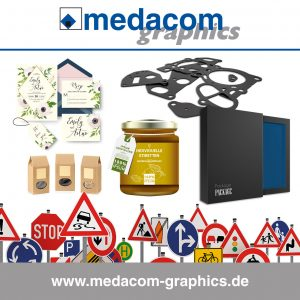 Die medacom graphics GmbH ist offizieller Distributor von Graphtec Schneideplottern für professionelle Werbetechnik.