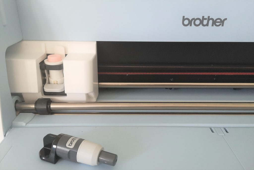 Bevel Quill Adapter eingesetzt Brother SDX