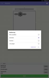 Ansicht Tablet DesignNCut