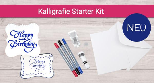 Erste Projekte mit dem Kalligrafie Starter Kit