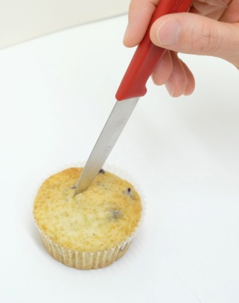 Muffin anschneiden