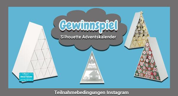 Silhouette Adventskalender Gewinnspiel - Instagram Teilnahmebedingungen