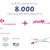 Instagram Gewinnspiel Teilnahmebedingungen - 8000 Abonnenten