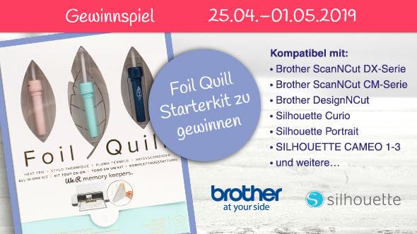 Foil Quill Starterkit -  Gewinnspiel