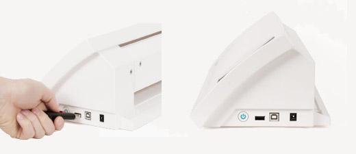 Plots können auch per USB-Stick auf die SILHOUETTE CAMEO 2 übertragen werden