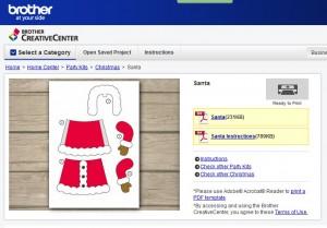 kostenloses Design für einen Weihnachtsmann