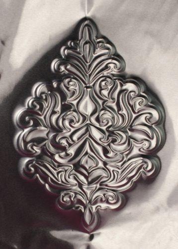 Metallfolie geprägt
