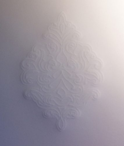Pergamentpapier geprägt