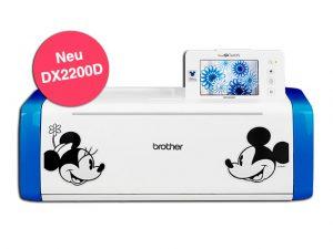 Exklusives Disney Modell – der neue ScanNCut DX2200D.