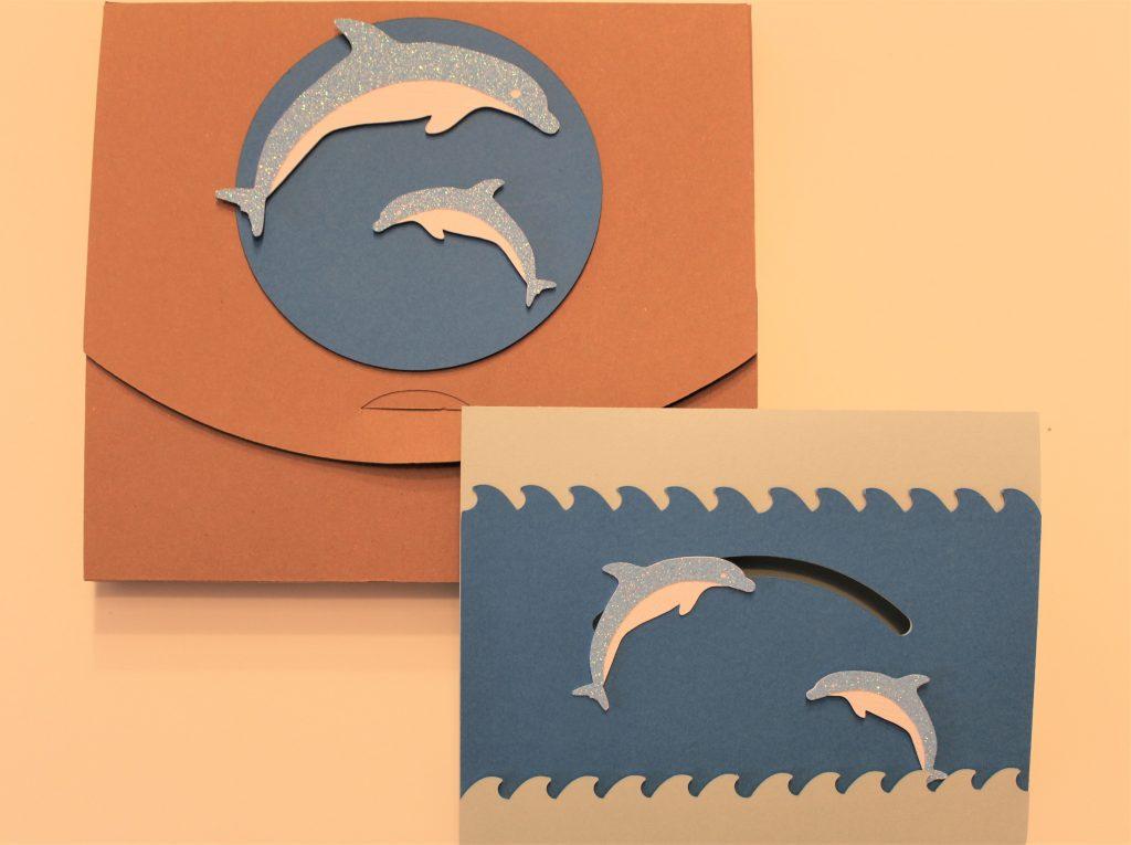 Sommerliche Geschenkidee für Delfinfans