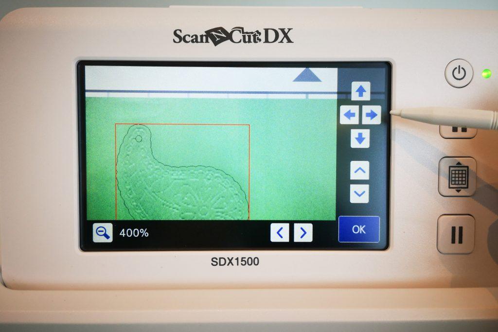 Display SDX1500 geprägtes Design positionieren