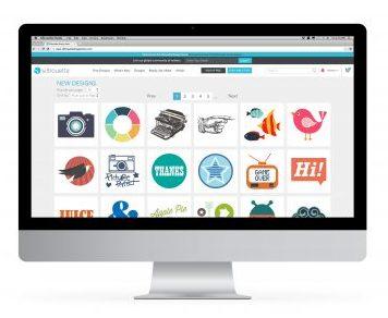 Sillhouette DesignStore - Produktübersicht mti Vorschaubilder der Motive